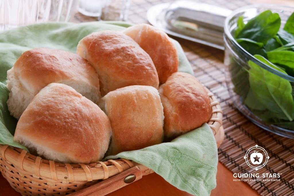 Soft Whole-Wheat Dinner Rolls
