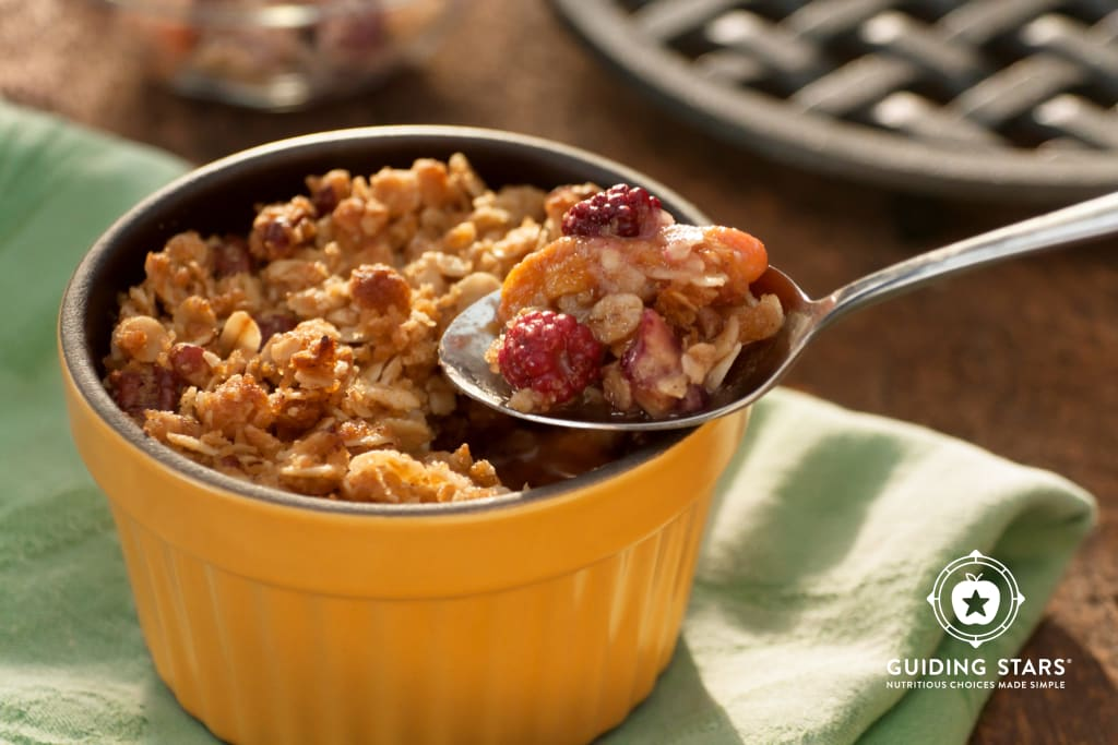 Old Fashioned Fruit Crumble