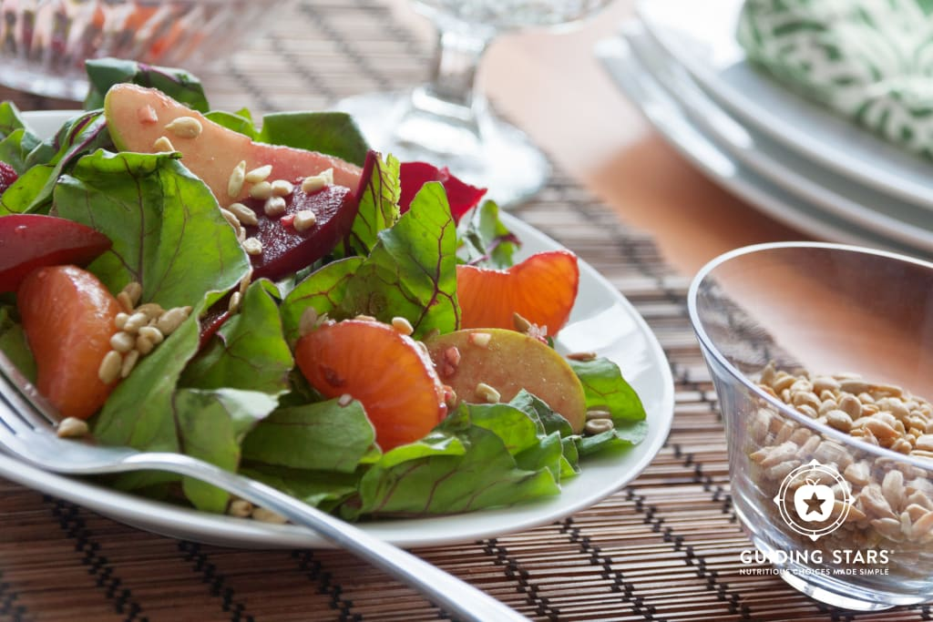 Beet, Orange and Apple Salad