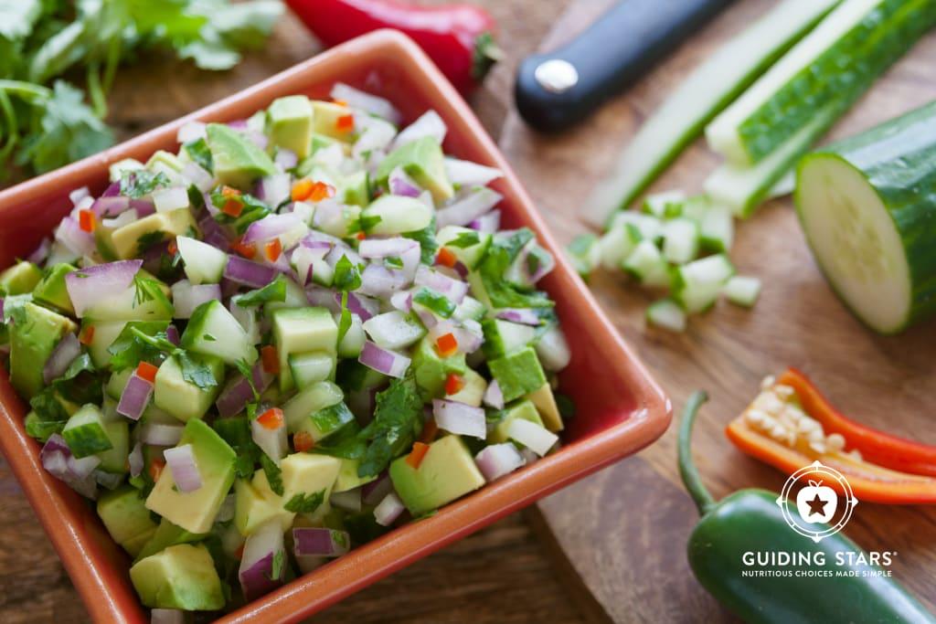 Cucumber-Avocado Salsa