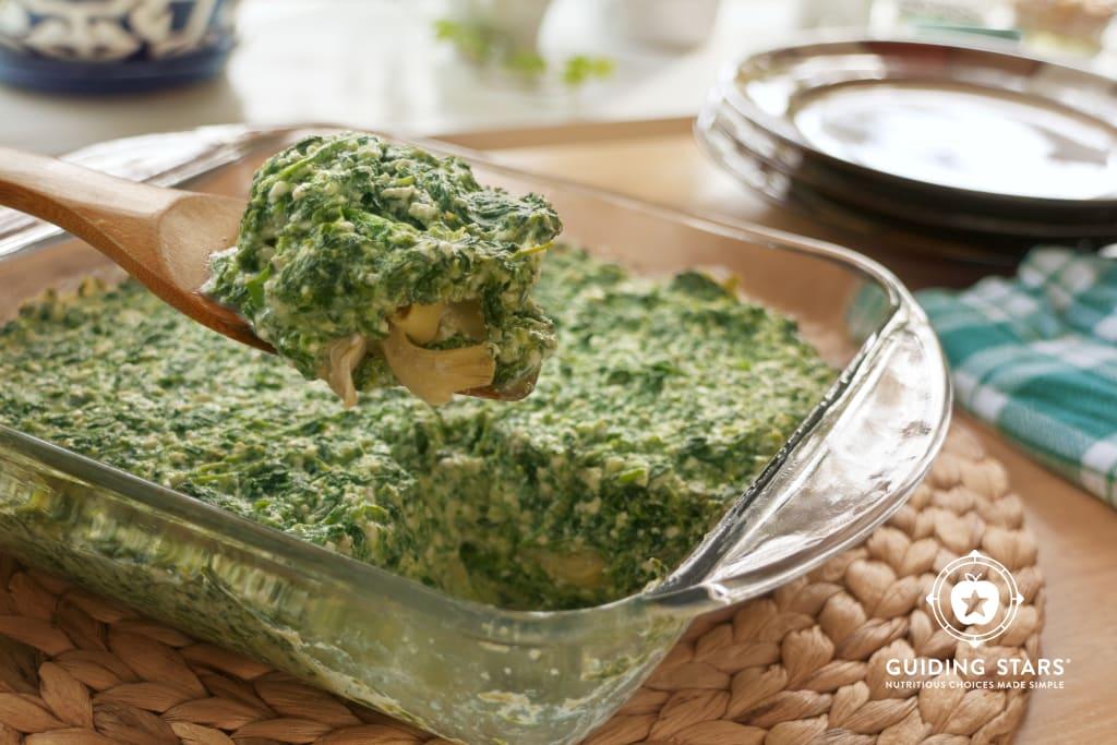 Spinach Artichoke Gratin