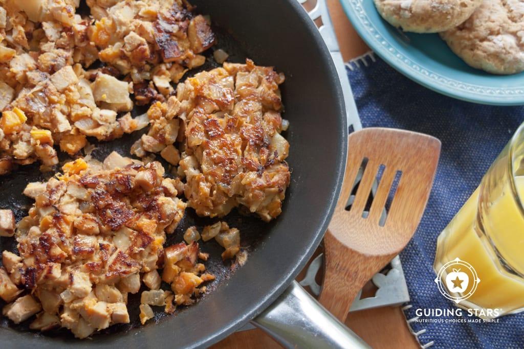 Sweet Potato-Turkey Hash