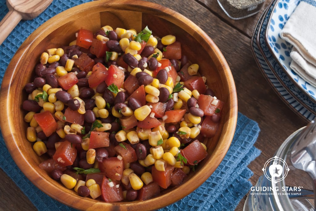 Black Beans with Corn & Tomatoes