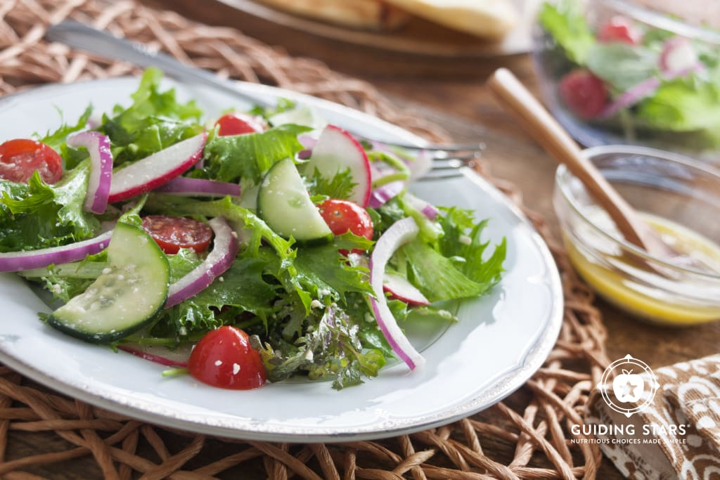 Tuscan Salad with Feta Vinaigrette