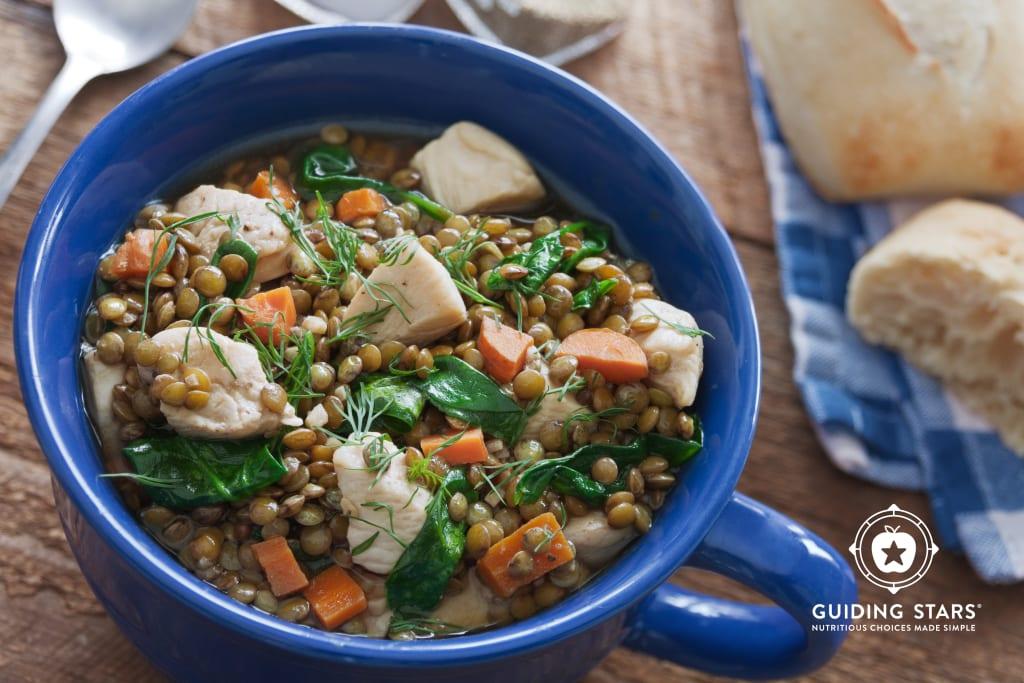 Lentil & Chicken Stew