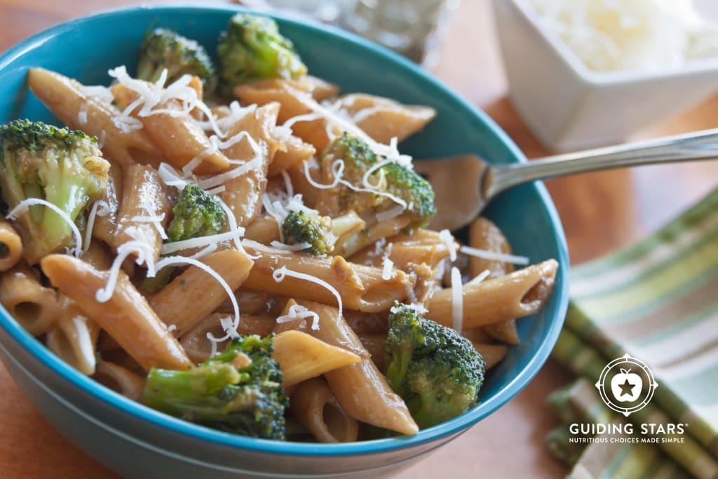 Broccoli, Garlic, and Lemon Penne.