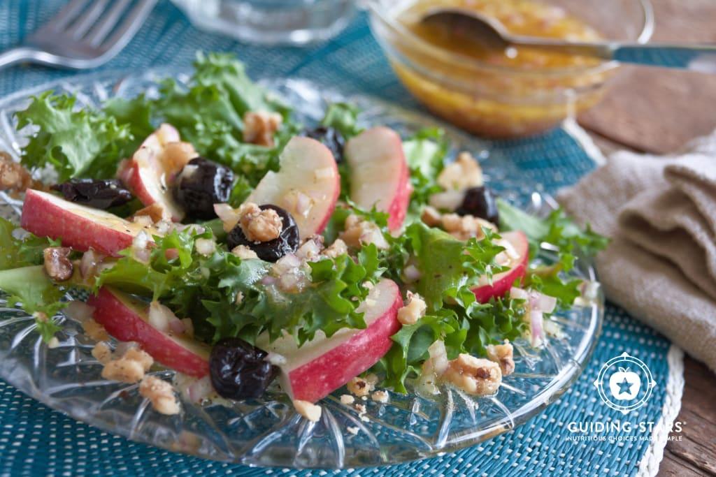 Frisee Apple Cherry Salad