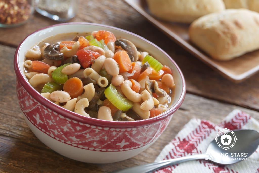 Bean & Macaroni Soup
