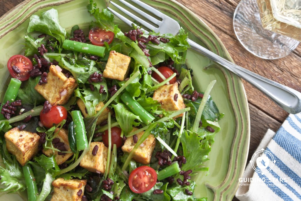Provencal Tofu Salad