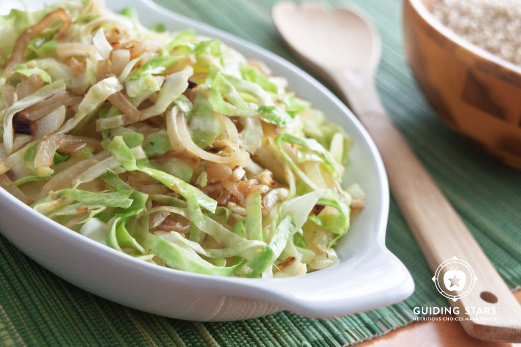 Ginger Cabbage Saute