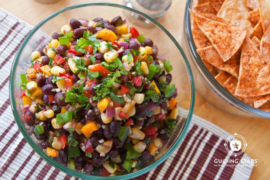 Black Bean and Bell Pepper Salsa