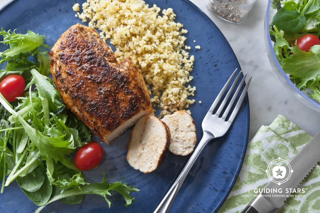 Blackened Chicken For Two