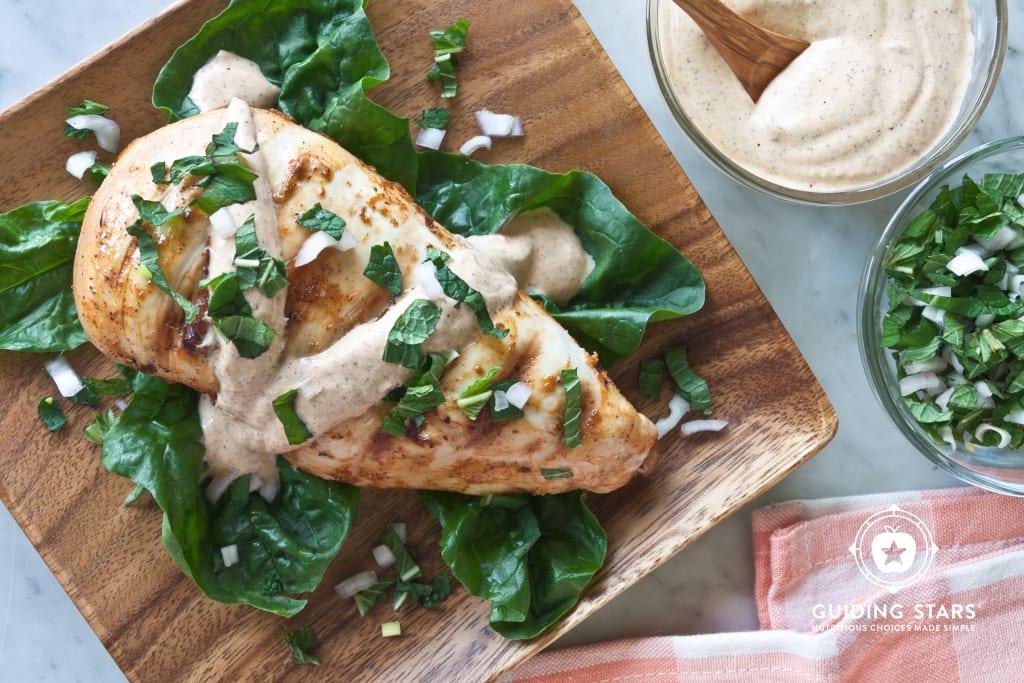 Grilled Chicken With Yogurt Marinade