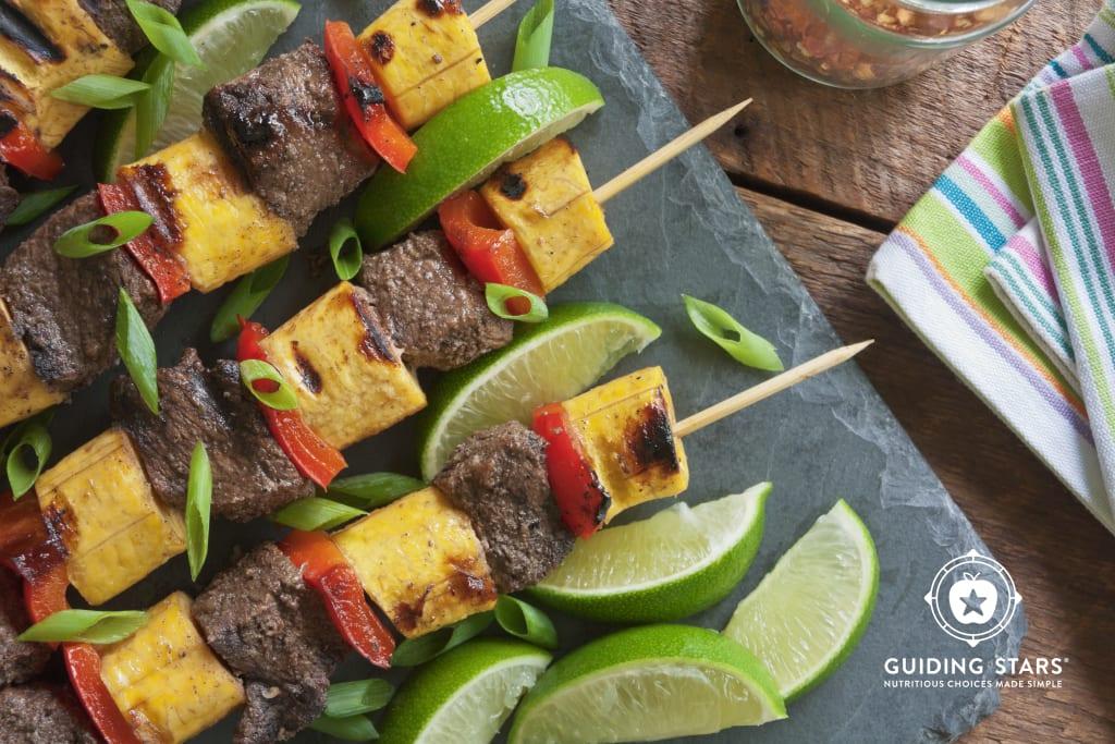 Spicy Island Beef Kebabs