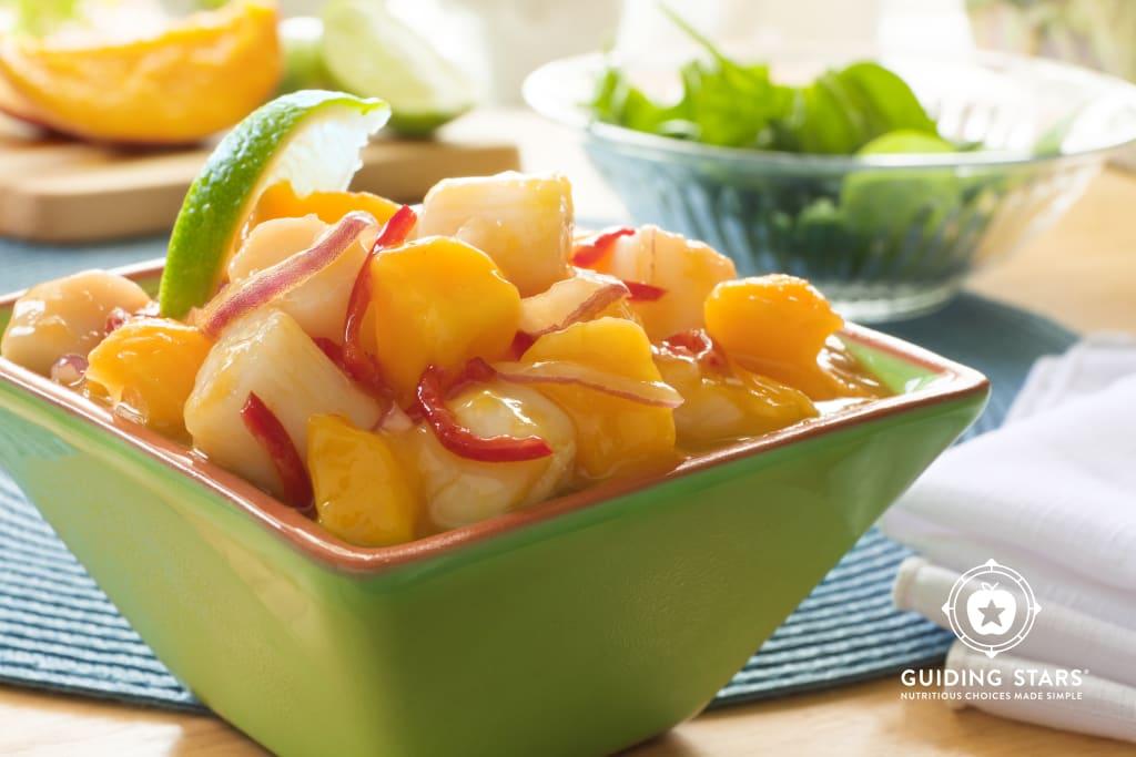 Scallop Mango Ceviche