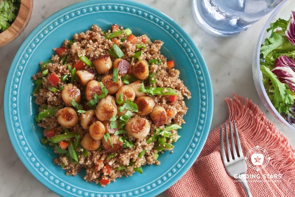 Scallop Quinoa Salad