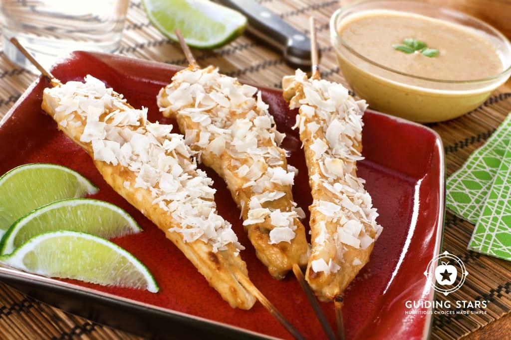 Coconut Chicken Satay