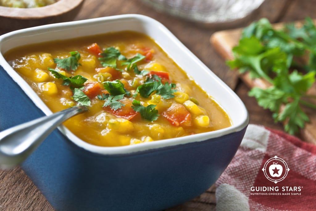 Quick & Peppy Pumpkin Soup