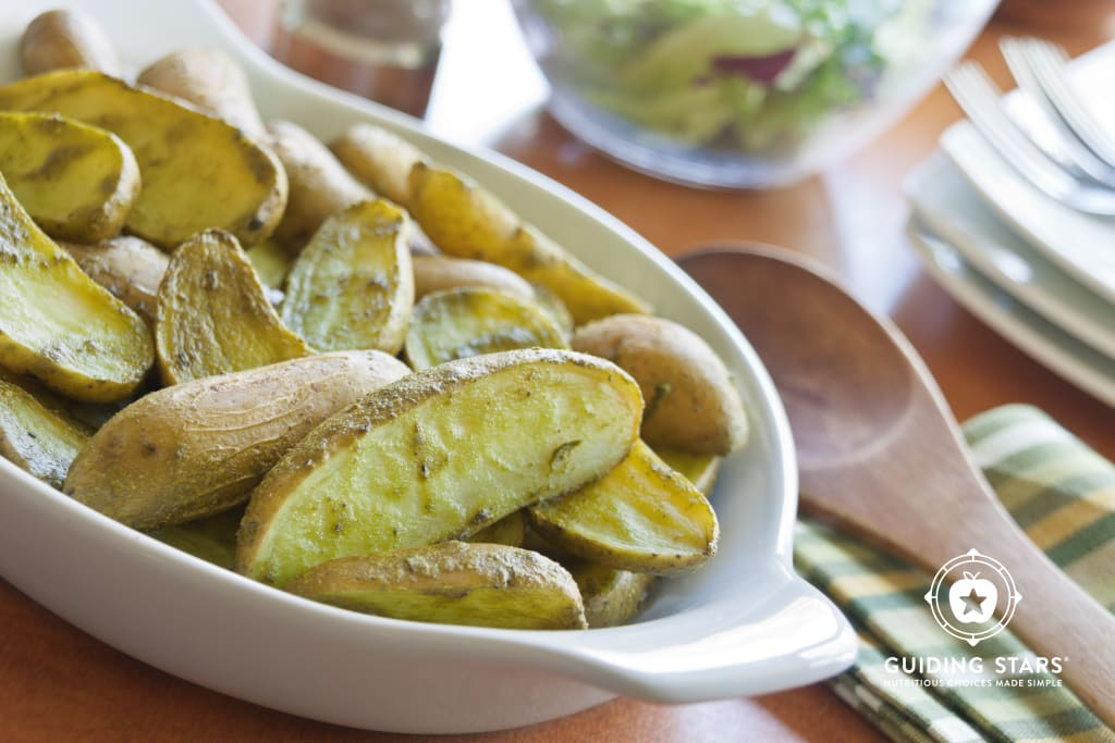 Spinach-Roasted Fingerlings