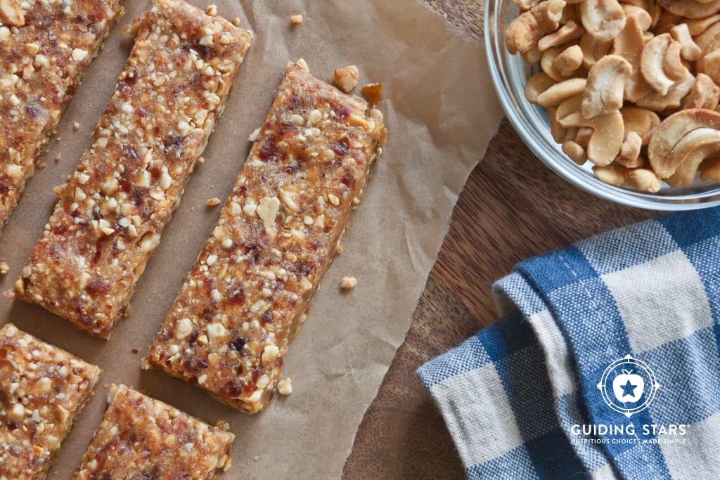 Cashew-Date Snack Bars