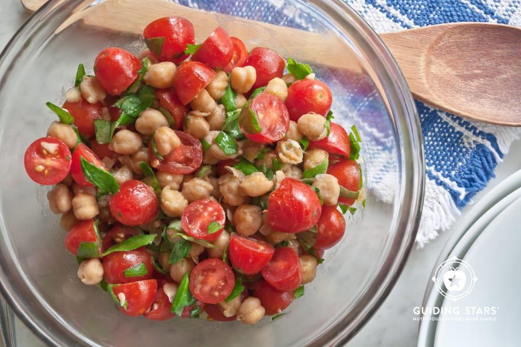 Chickpea & Tomato Salad