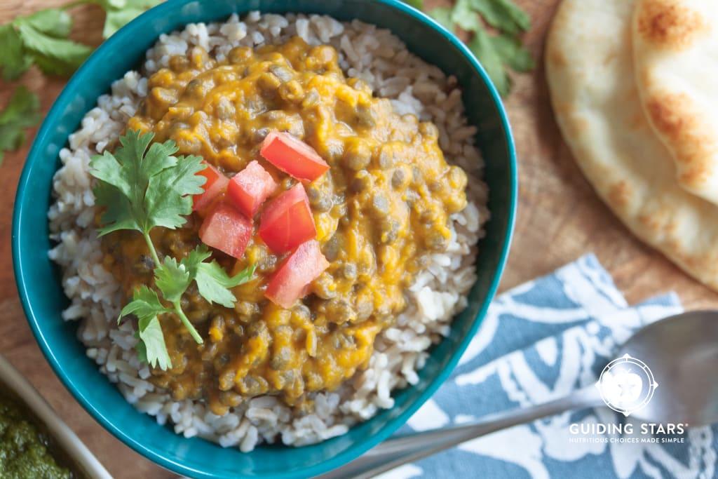 Squash Lentil Curry