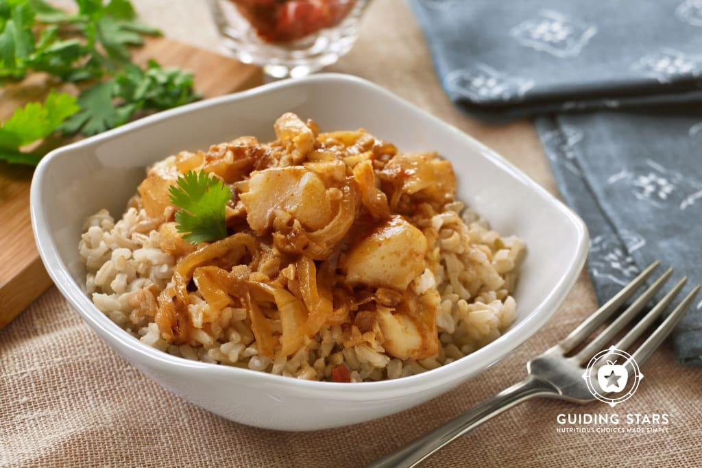 Coconut Chile Fish Curry