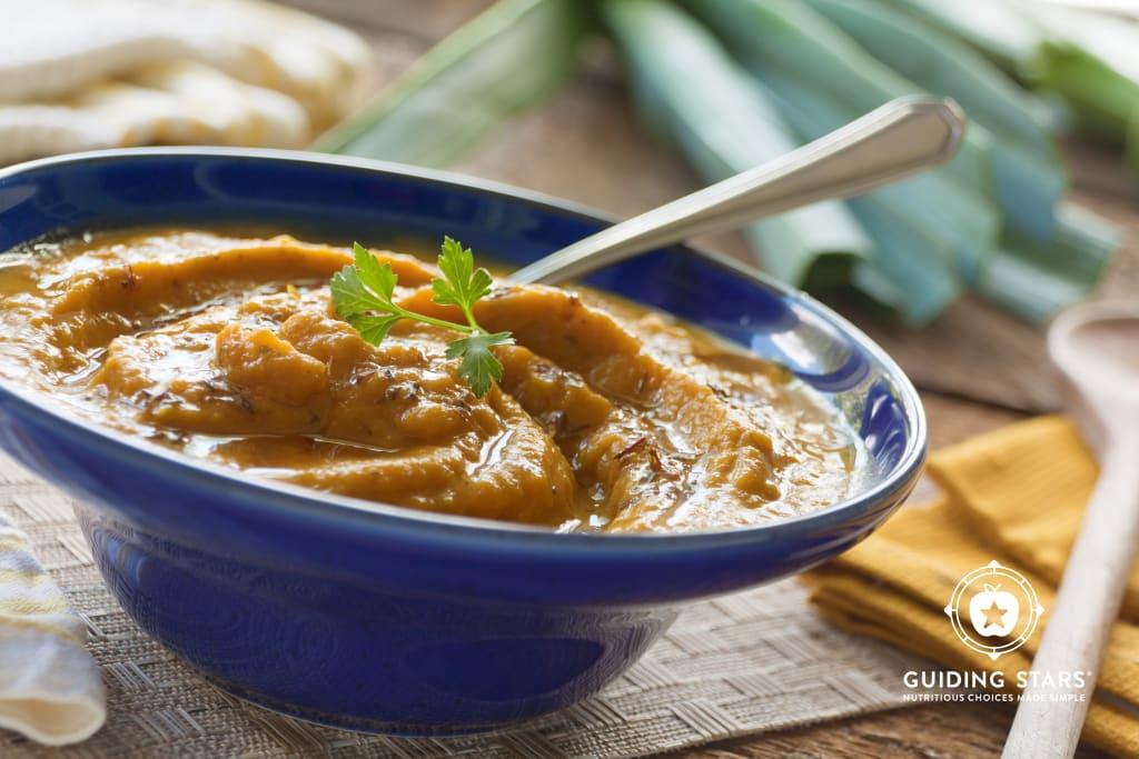 Brown Butter Pumpkin Soup