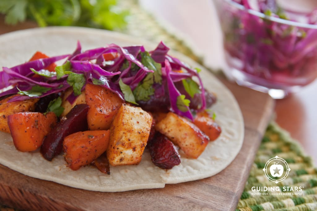 Roasted Root Tacos