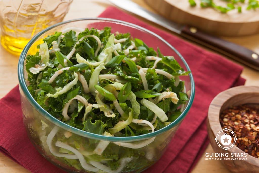 Warm Soba Salad