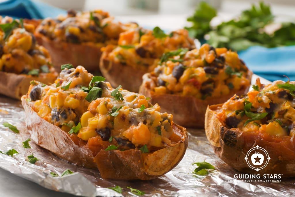 Stuffed Mexican Sweet Potatoes