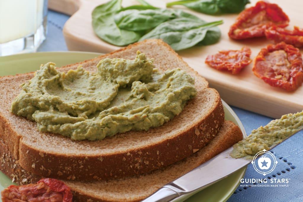 Chickpea Pesto Sandwich