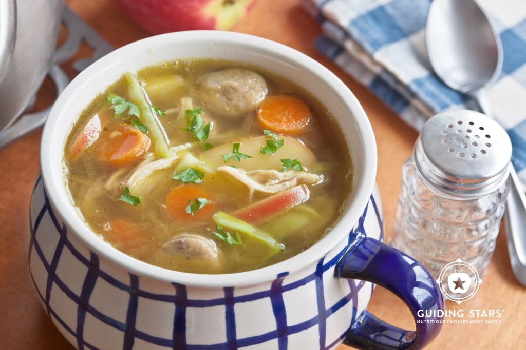 Sweet Harvest Chicken Soup