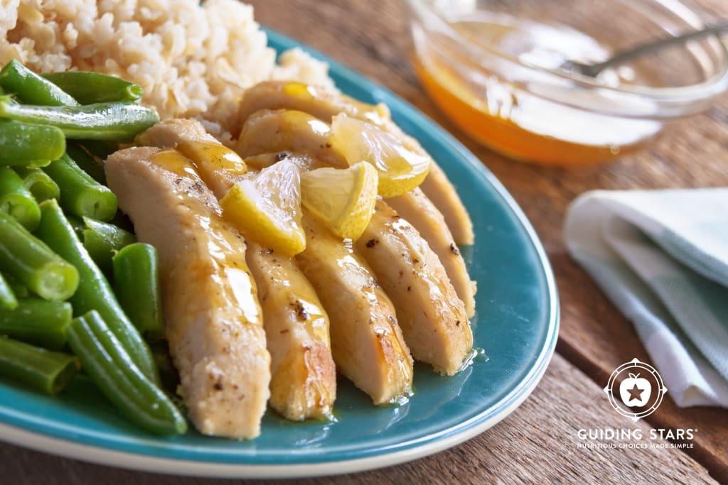 Honey Lemon Chicken Skillet