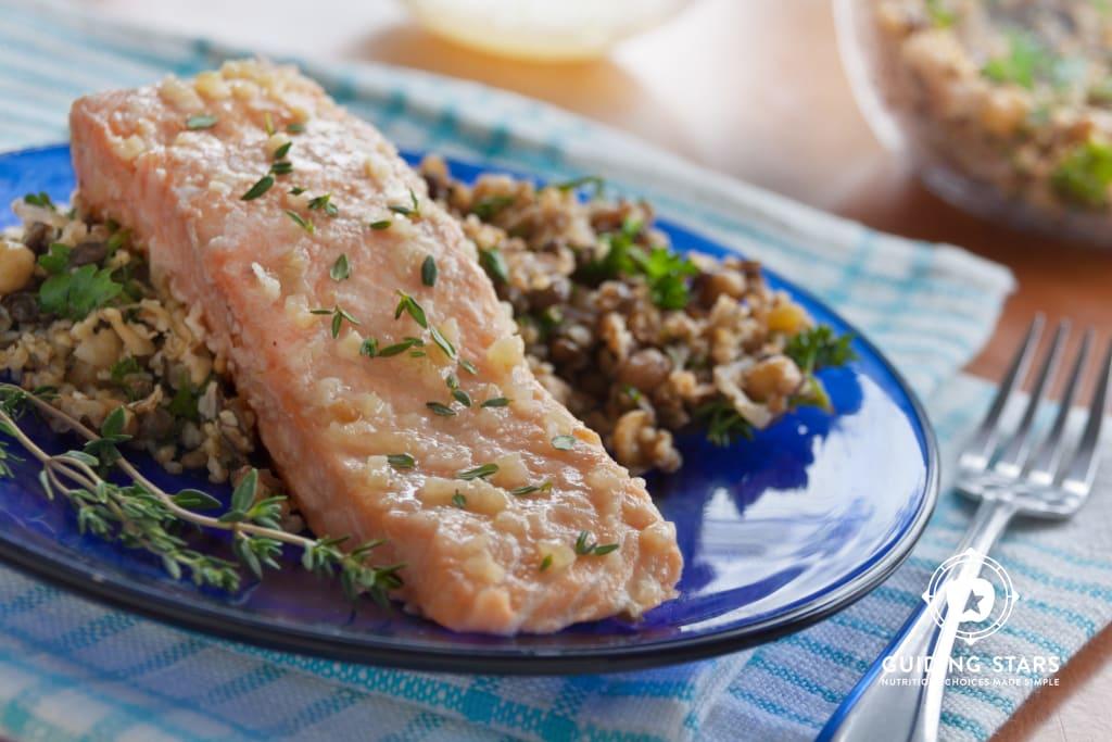 Honey-Thyme Salmon Foil Packet