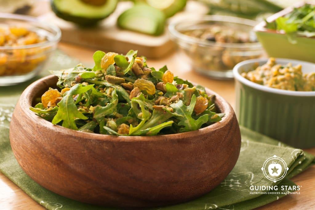 Avocado Arugula Salad