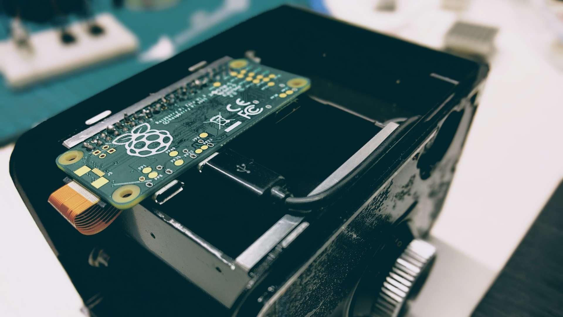 YashicaPi - digitalt kamera