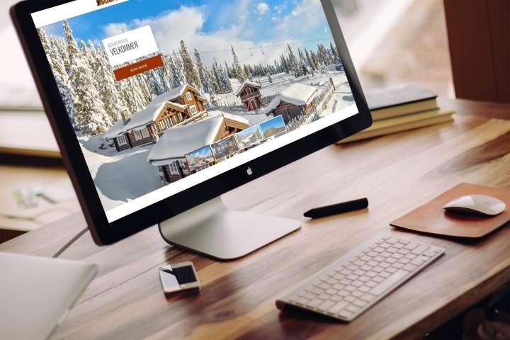 Østlaft Bygg - nettside og hyttedatabase