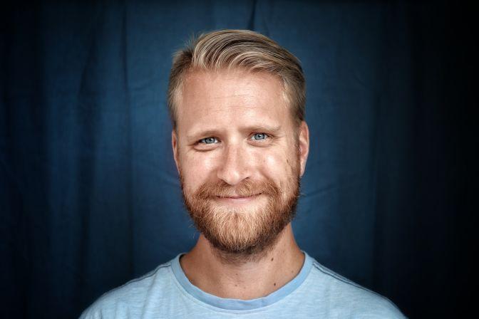 Portrettbilde av Helge Johnsen