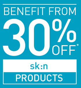 BENEFIT FROM 30% OFF ALL PRODUCTS