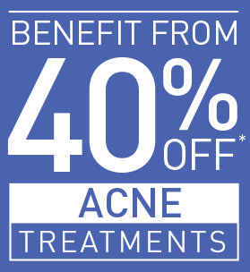 40% OFF ACNE TREATMENTS