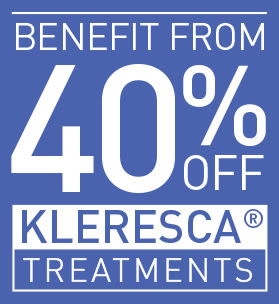 40% OFF KLERESCA TREATMENTS