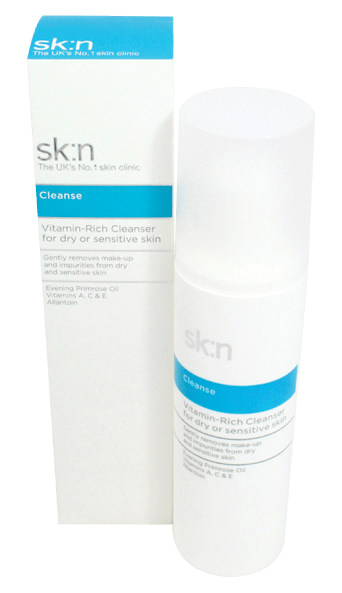 sk:n Vitamin Rich Cleanser - dry/sensitive skin 200ml