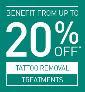 20% Off Tattoo Removal