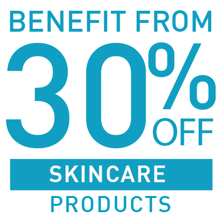 30% OFF ALL SKINCARE PRODUCTS
