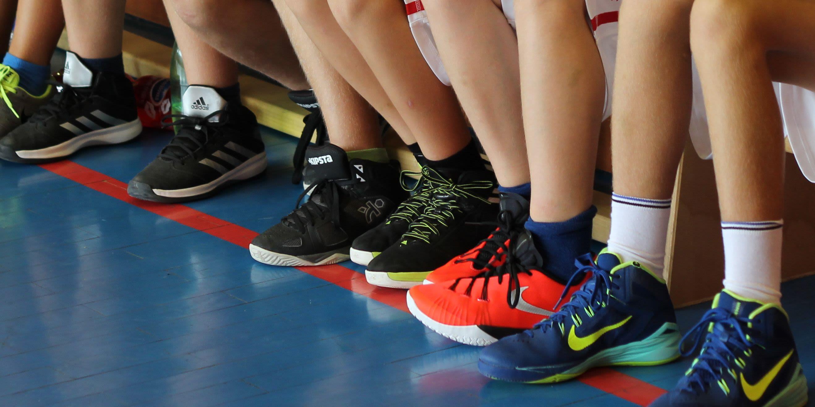 Basketbalové boty
