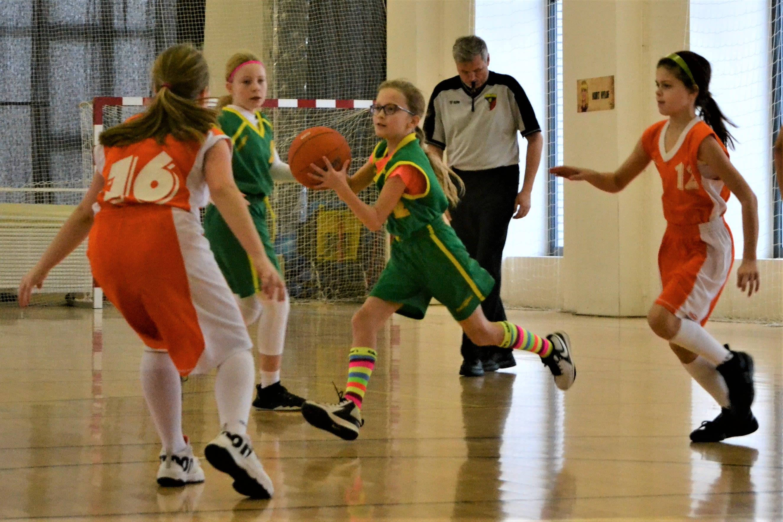 basketbalový zápas