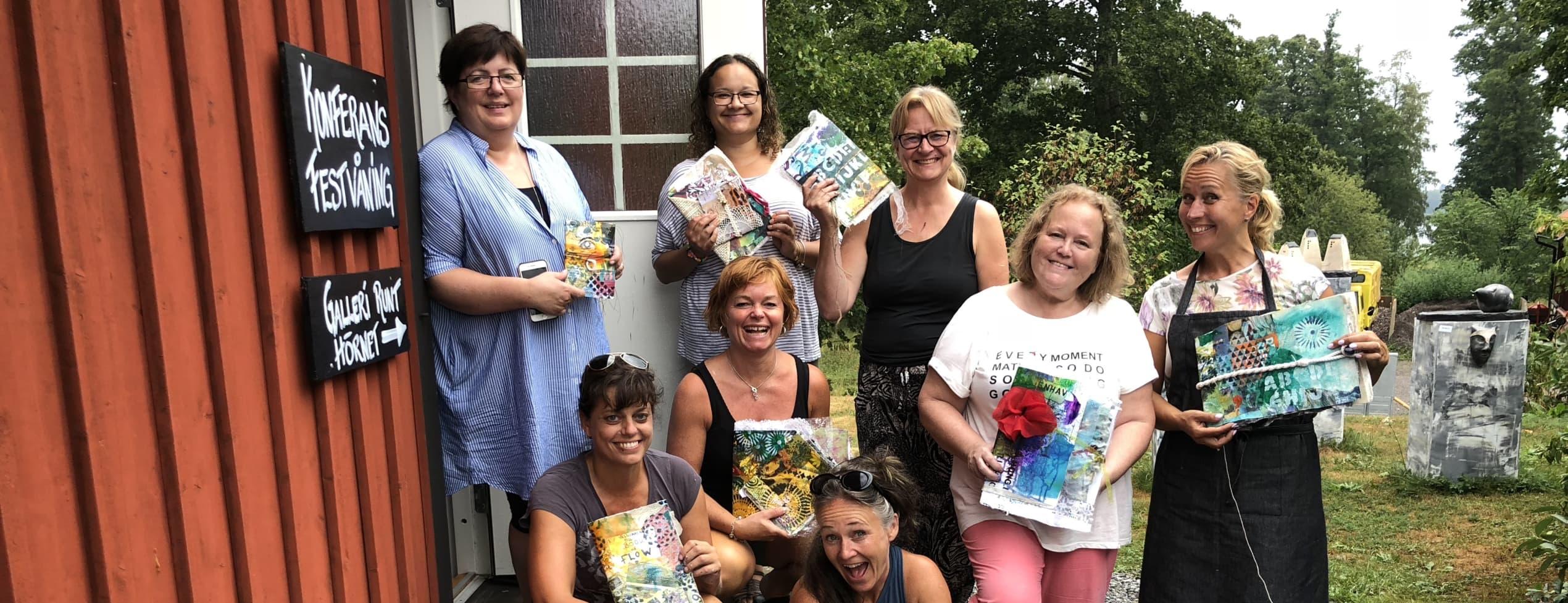 Skapa ett bokomslag med Mixed Media