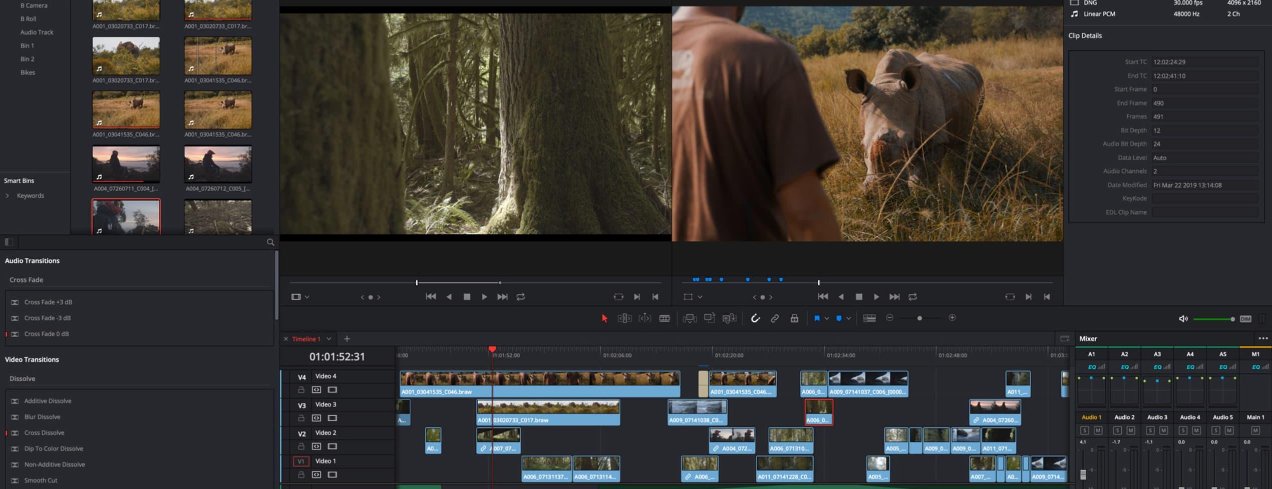 Redigera enkla videos med DaVinci Resolve