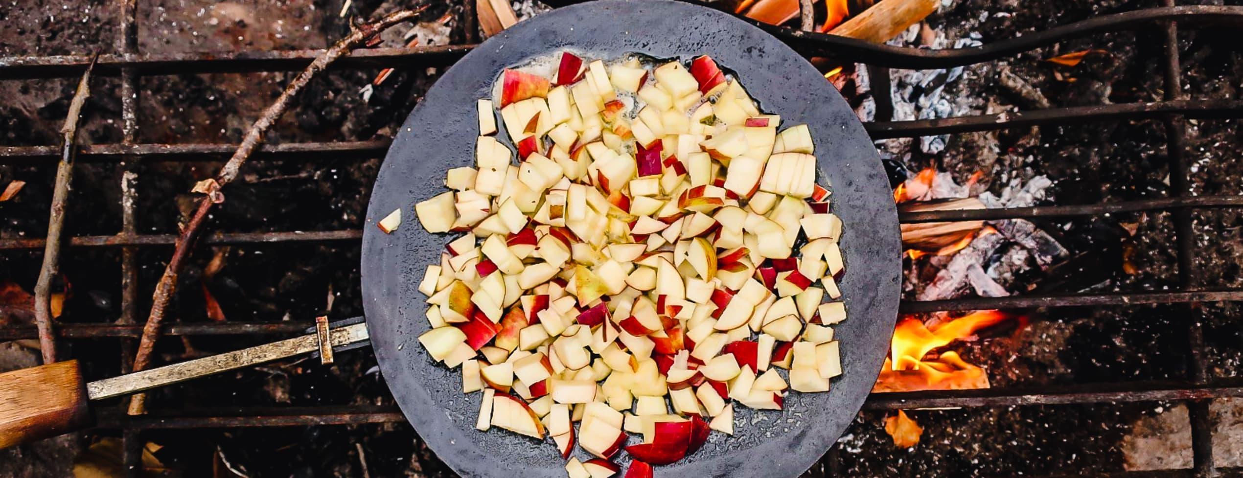 Fem vanliga eldar & enkel matlagning över eld